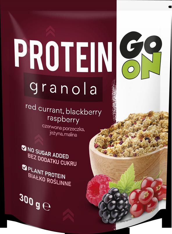 p 1 sante 5144 go on protein granola  com frutos 300g fitness, nutrition