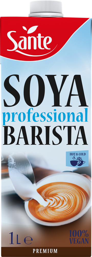 t 1 sante 7971 bebida de soja barista 1l fitness, nutrition