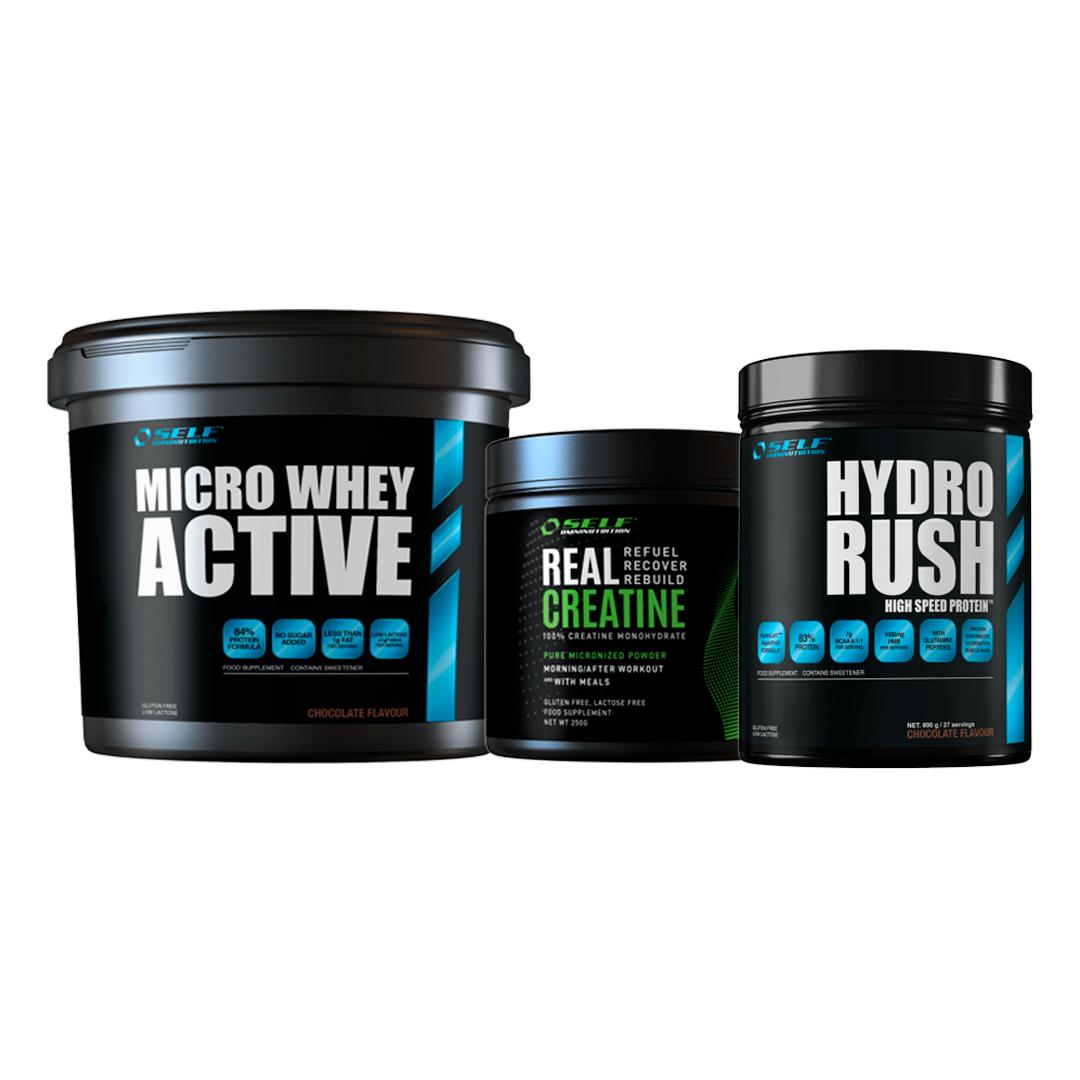 packrush pack rush proteina  creatina  hydro rush fitness, nutrition