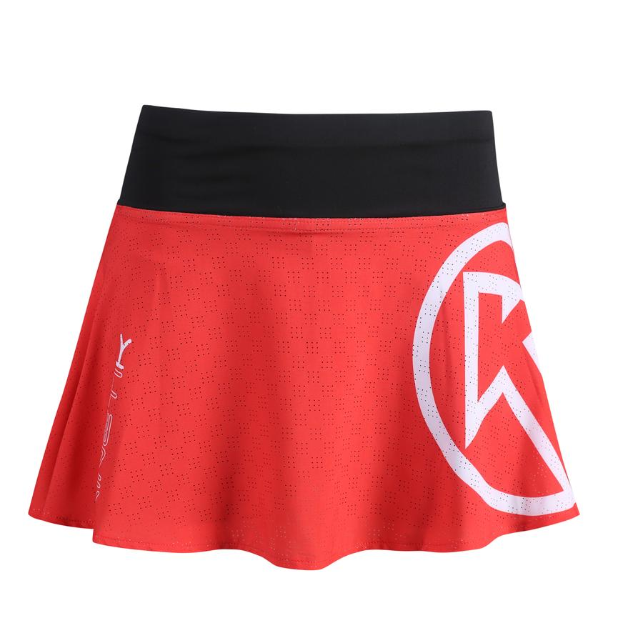 20003302 womens skirt red fitness, nutrition