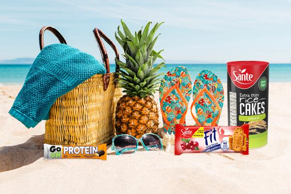 6 snack salutari da portare in spiaggia