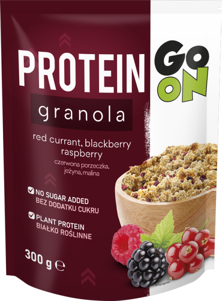 p 1 sante 5144 go on protein granola  com frutos 300g fitness, nutrition