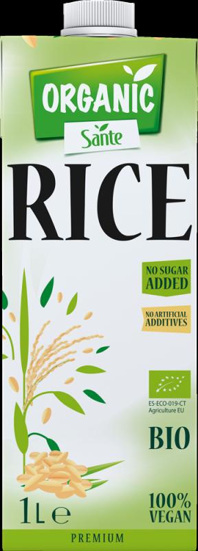 t 1 sante 7868 bebida de arroz organico sem adicao de acucar 1l fitness, nutrition