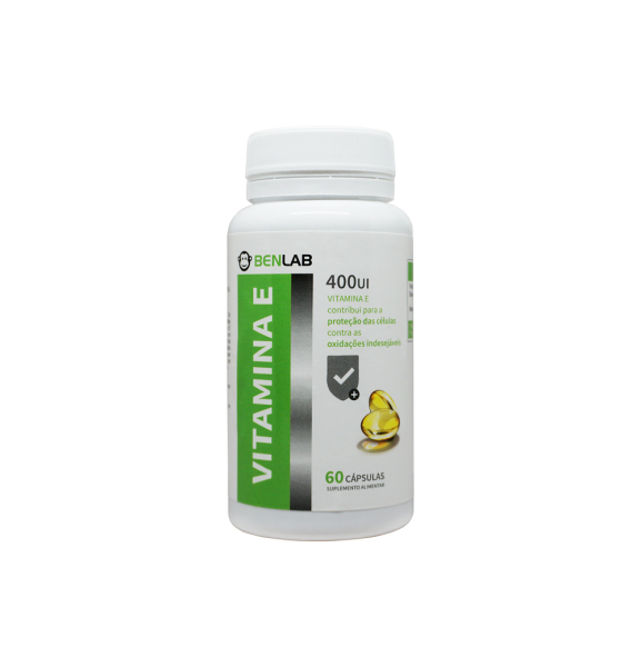 exc1072 benlab vitamina e 60 comp fitness, nutrition