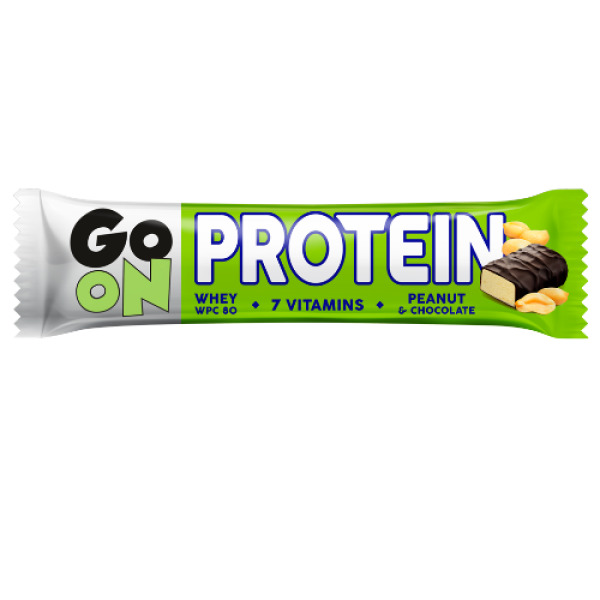 p1sante2402 5x go on protein bar peanut 50g fitness, nutrition