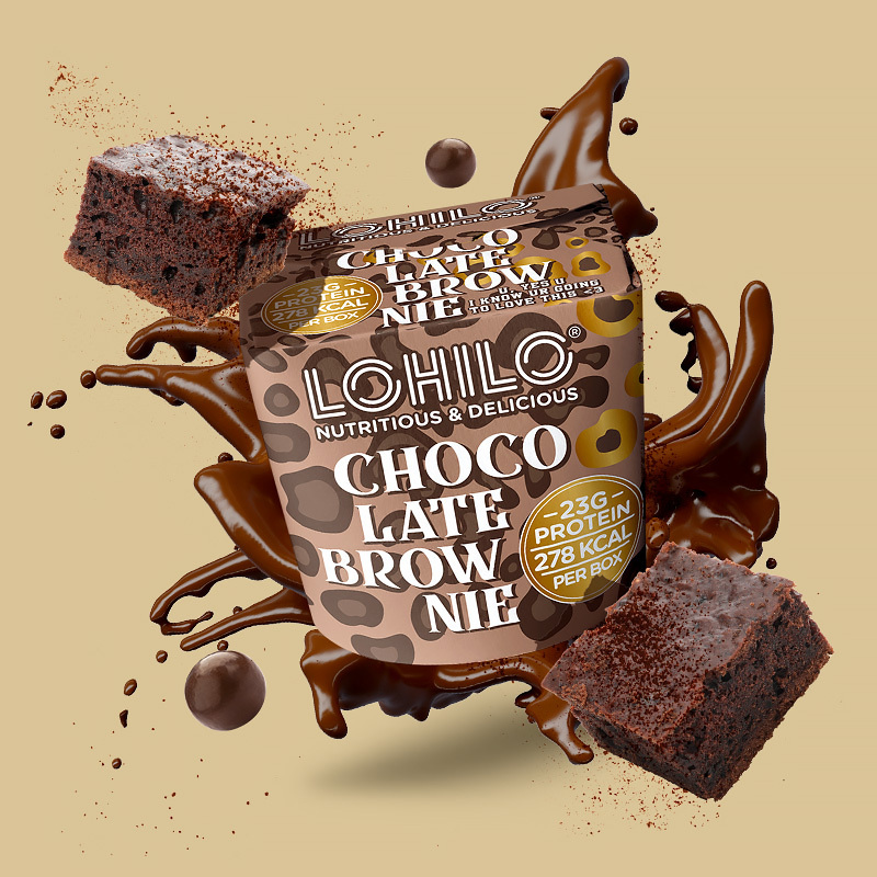 1564020 lhl chocolate brownie 350ml fitness, nutrition