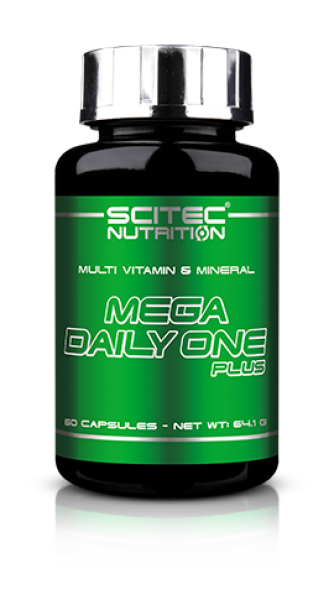 sci89021020001 mega daily one plus 60 caps fitness, nutrition