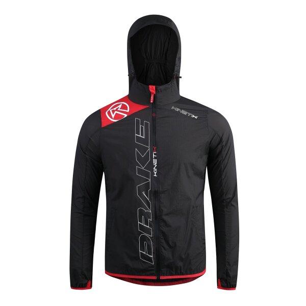 20304901 windproof running jacket drake unisex black fitness, nutrition
