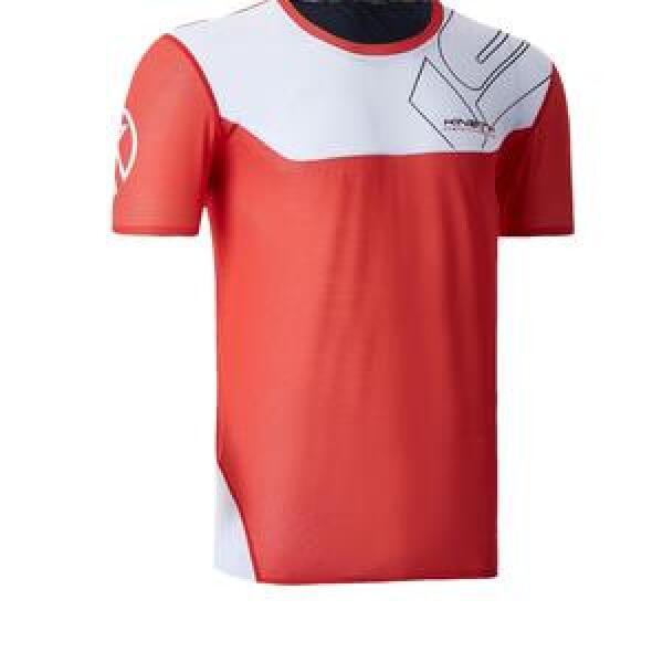 20101802 isonik short sleeve red fitness, nutrition